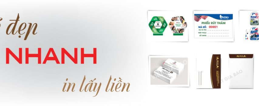 In nhanh – In lấy liền